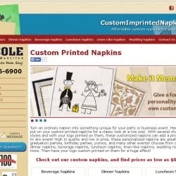 Cole-ImprintedNapkins